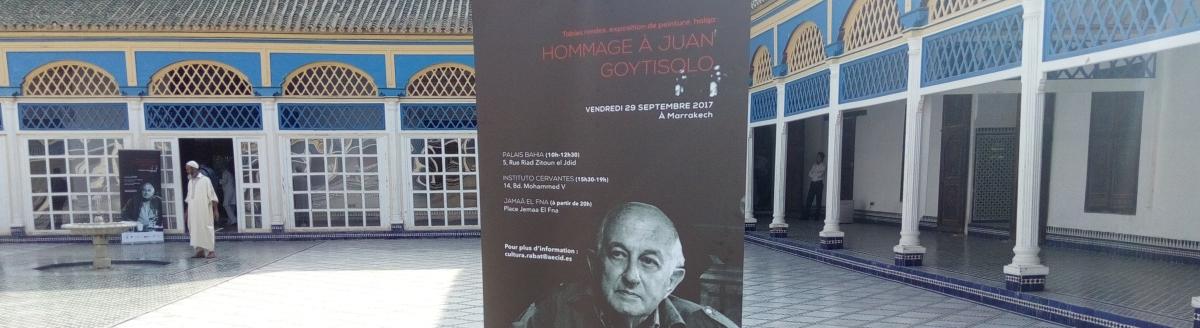Juan Goytisolo, viaje al sur