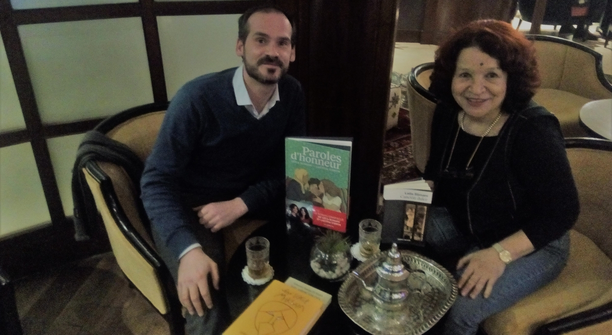Malika Embarek, cómo traducir a Leila Slimani