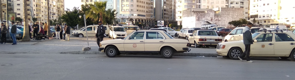Un experto taxista